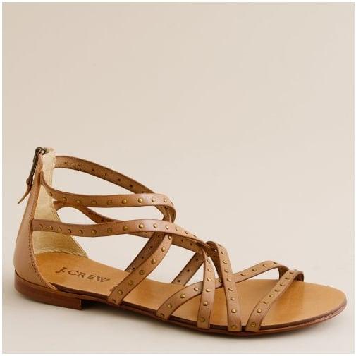 j.crew gladiator sandals