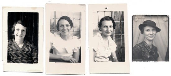 grandmother and aunt 1930s