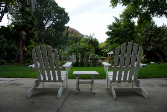 Paradise Point backyard