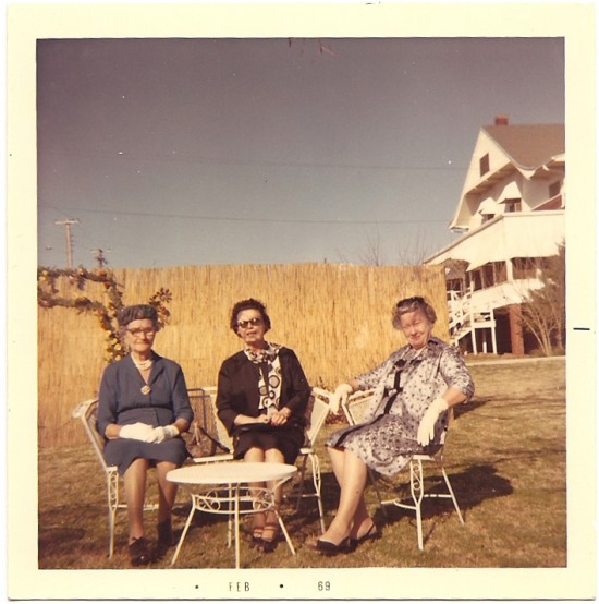 My great grandmother and two of her friends