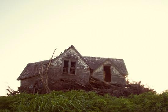 shabby old house