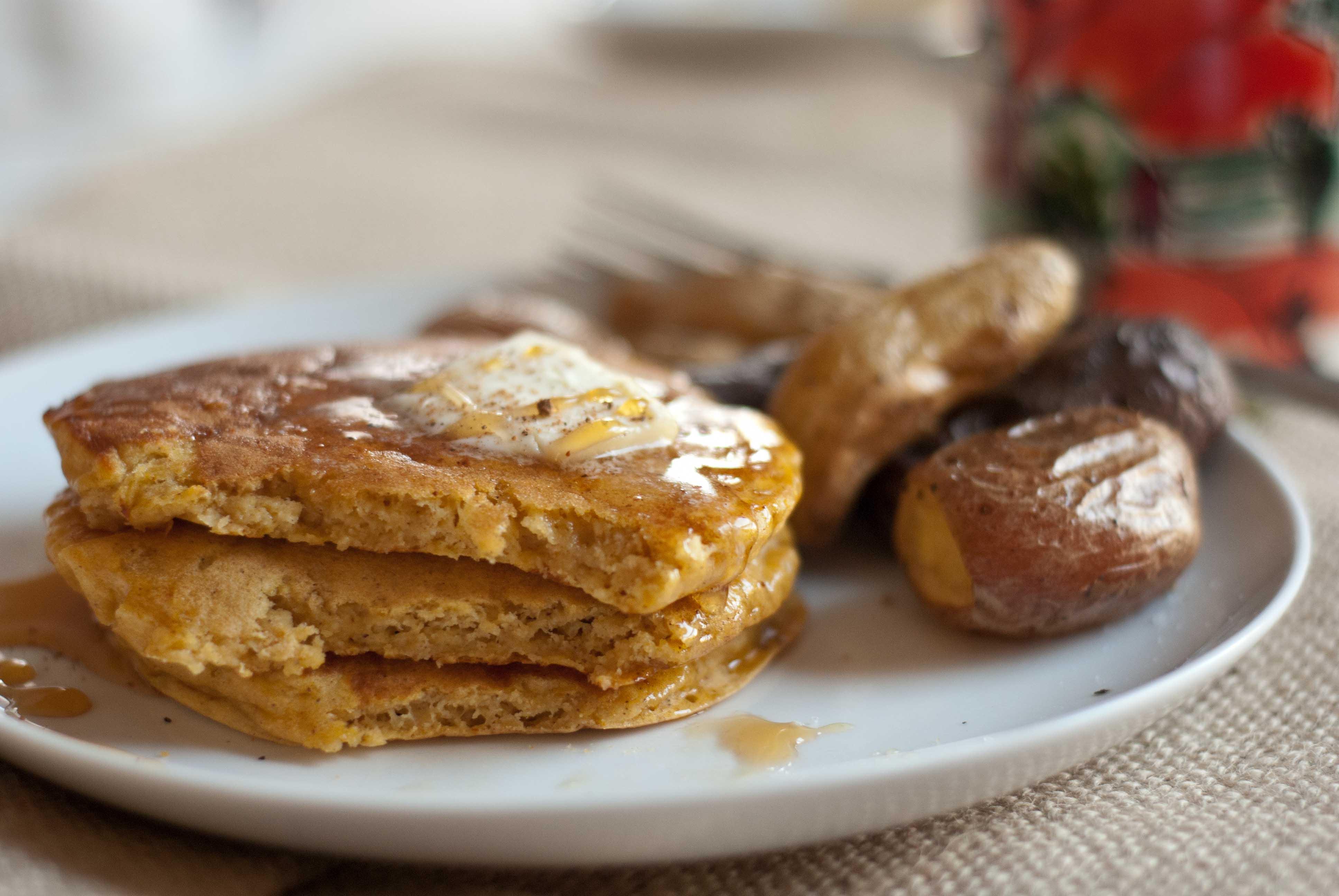 Pumpkin Potato Latkes Recipe — Dishmaps