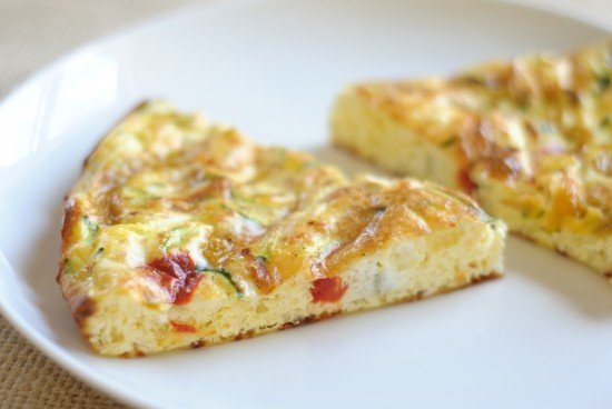 Frittata from the oven