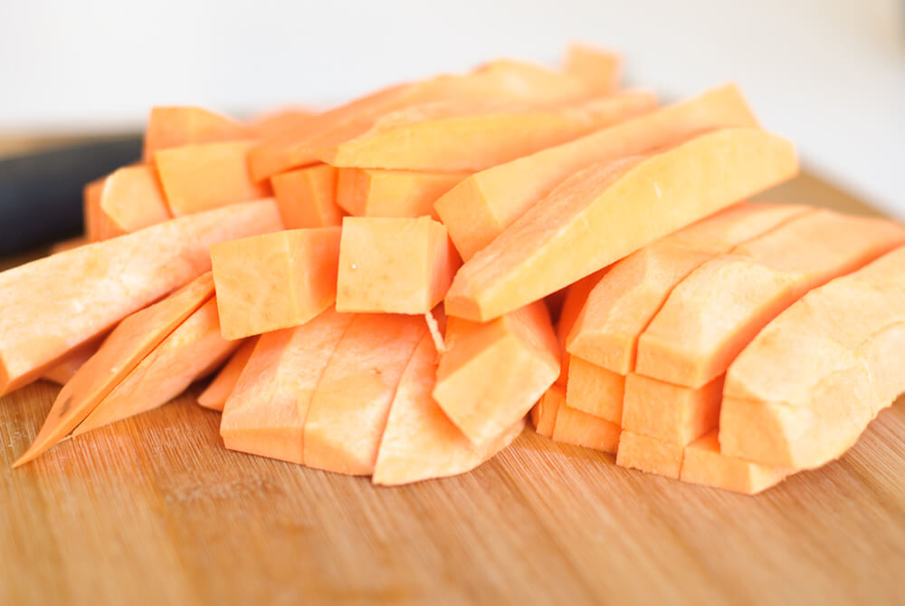 chips are awesome sweet potato fries crunchy white and sweet potato ...