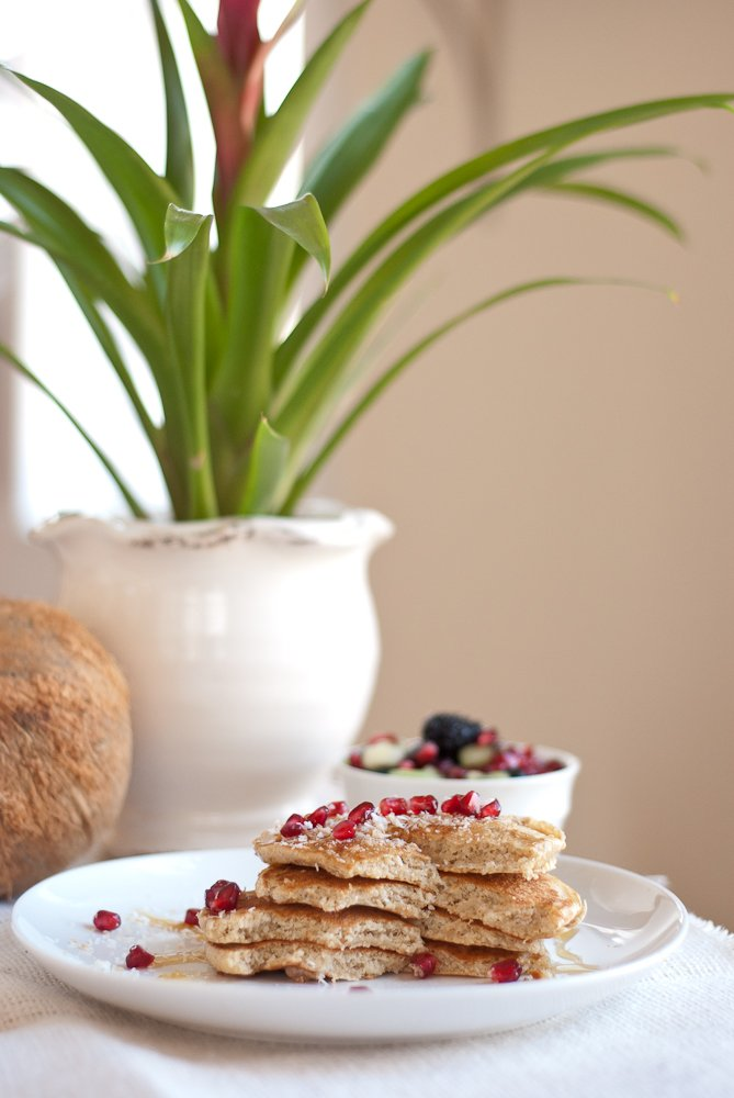 coconut pancakes recipe cookie and kate