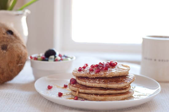 coconut pancakes recipe