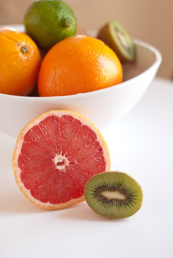 seasonal winter fruit
