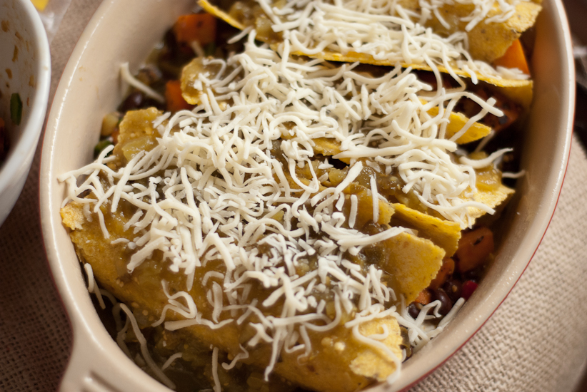 Vegetarian Black Bean Sweet Potato Enchiladas Recipe ...