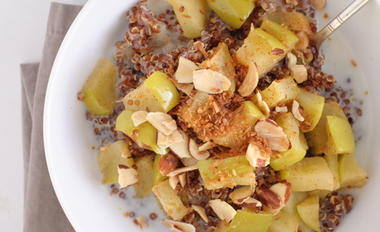 apple breakfast quinoa