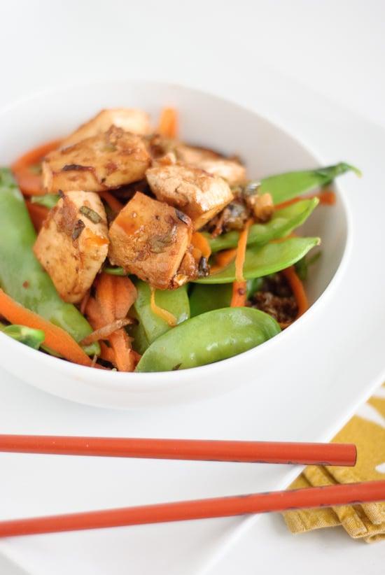 Tofu Tostado con Quinoa