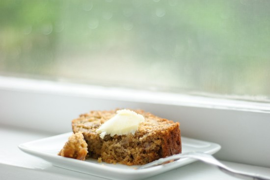 honey whole wheat banana bread recipe