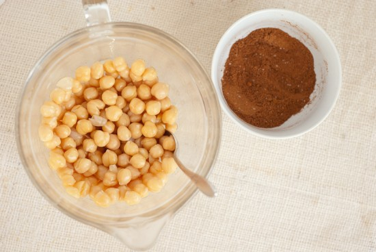 how to bake spicy chickpeas