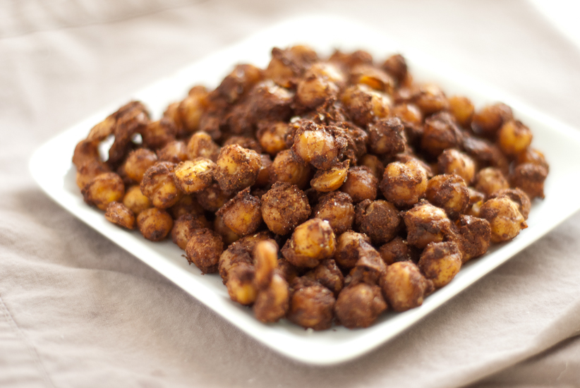 Indian Spiced Baked Chickpeas - Cookie and Kate