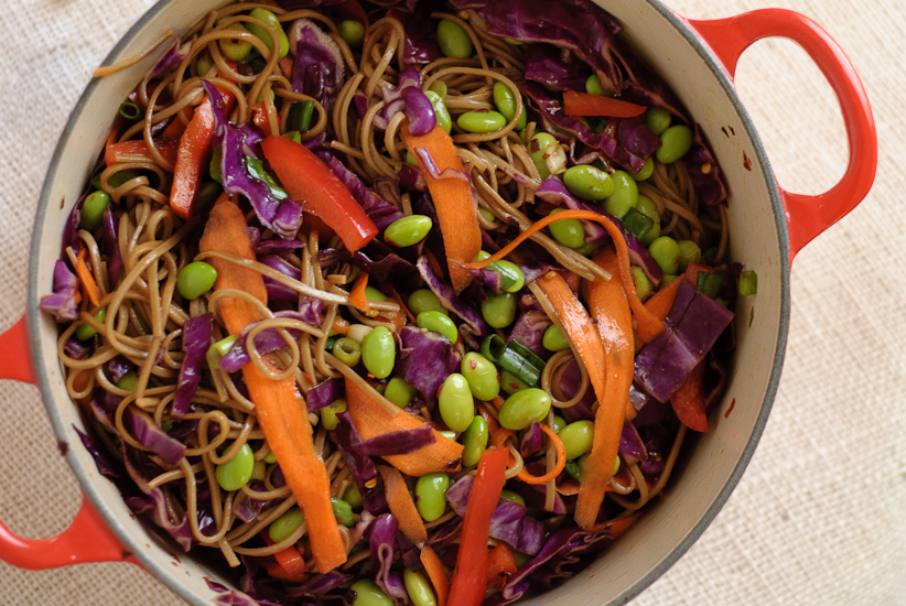 Soba Noodles with Vegetables - Cookie and Kate