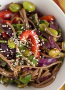 Soba Noodle & Raw Veggie Salad