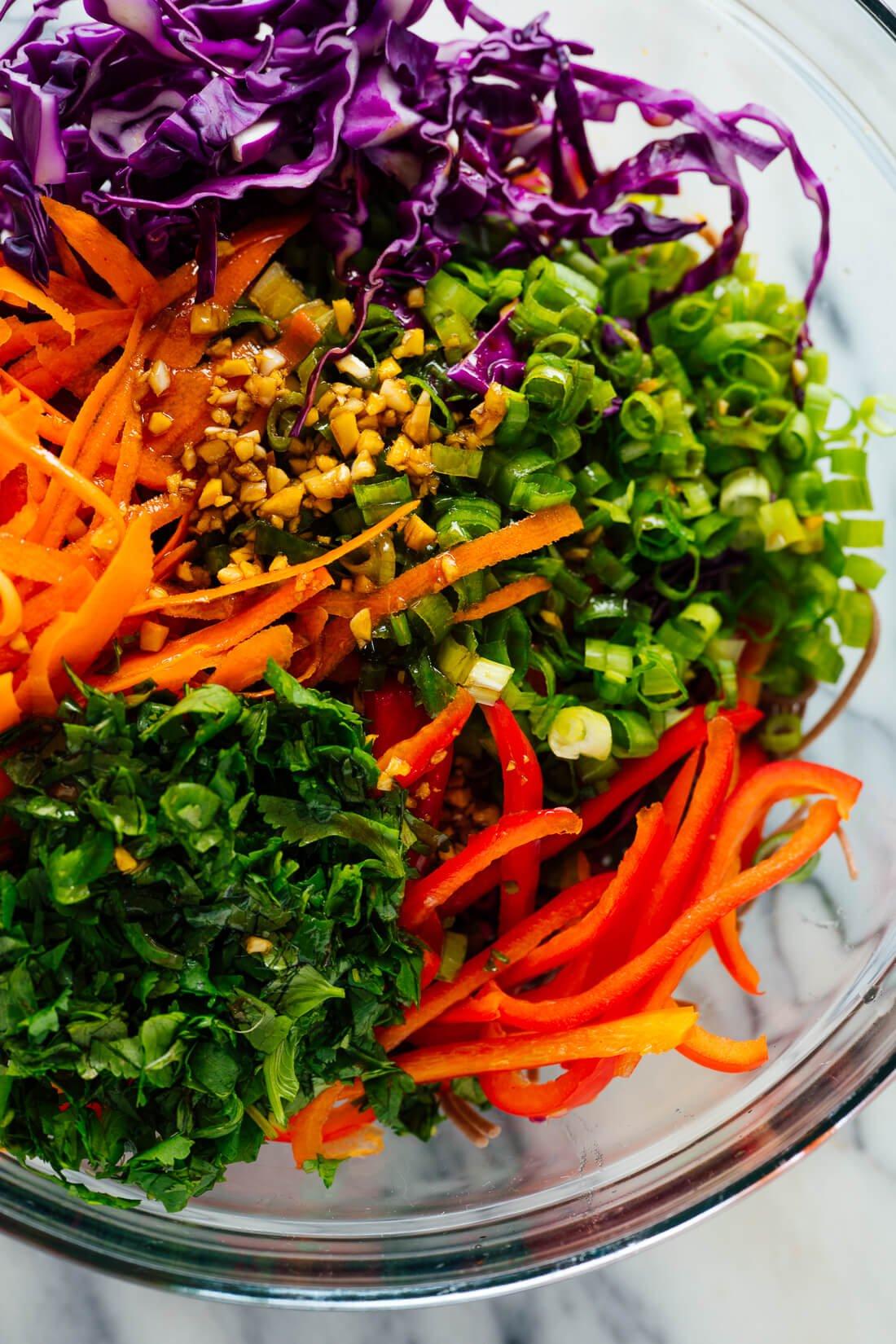 how to make sesame noodles salad
