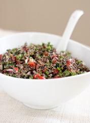 Quinoa tabbouleh recipe! #vegan - cookieandkate.com
