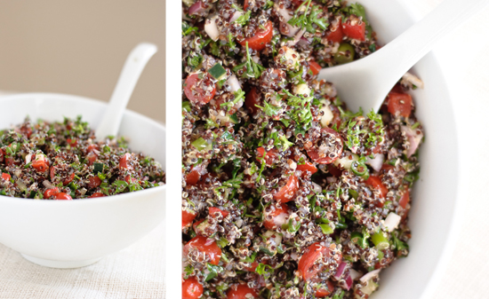 quinoa tabouli recipe