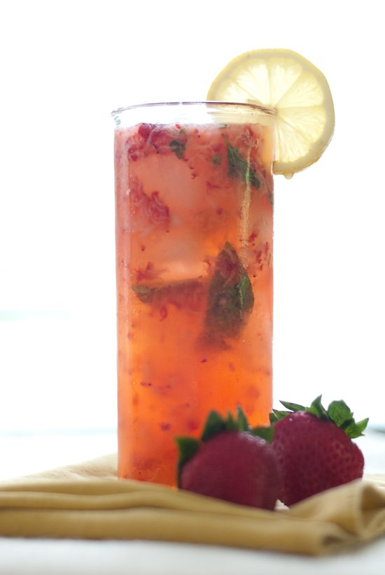 strawberry smash cocktail recipe