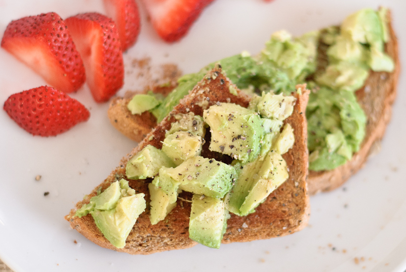 first up toast avocado toast honestly we could just stop