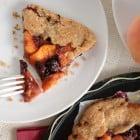 blackberry peach galette