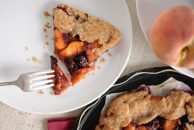 Blackberry Peach Galette Recipe