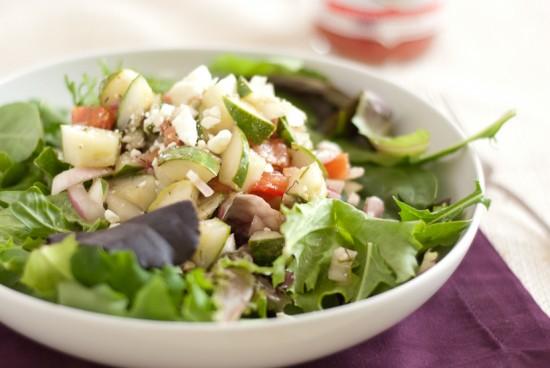cucumber dill feta salad