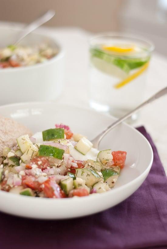 Persian cucumber salad