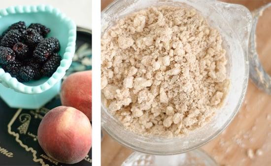 peach and blackberry galette recipe