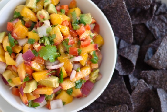 peach avocado salsa recipe