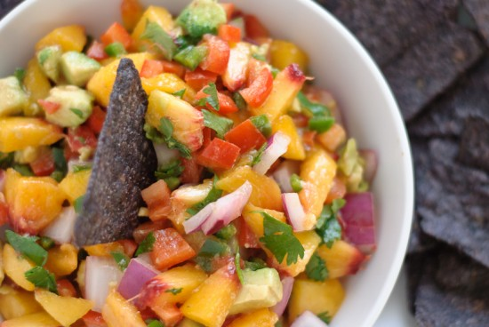 peach avocado salsa recipe
