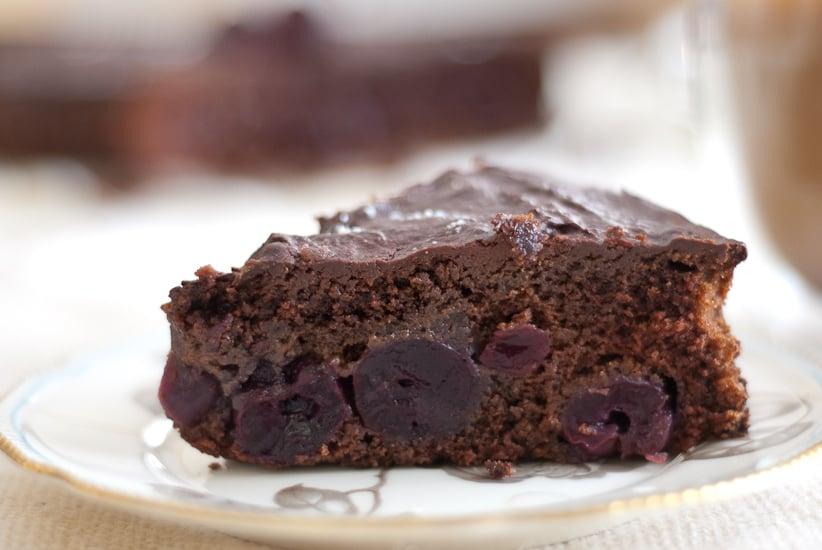 ... cake chocolate cherry pound cake cherry chocolate cake made chocolate