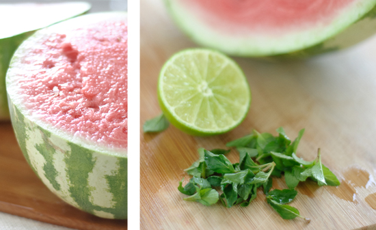 watermelon mint sorbet ingredients