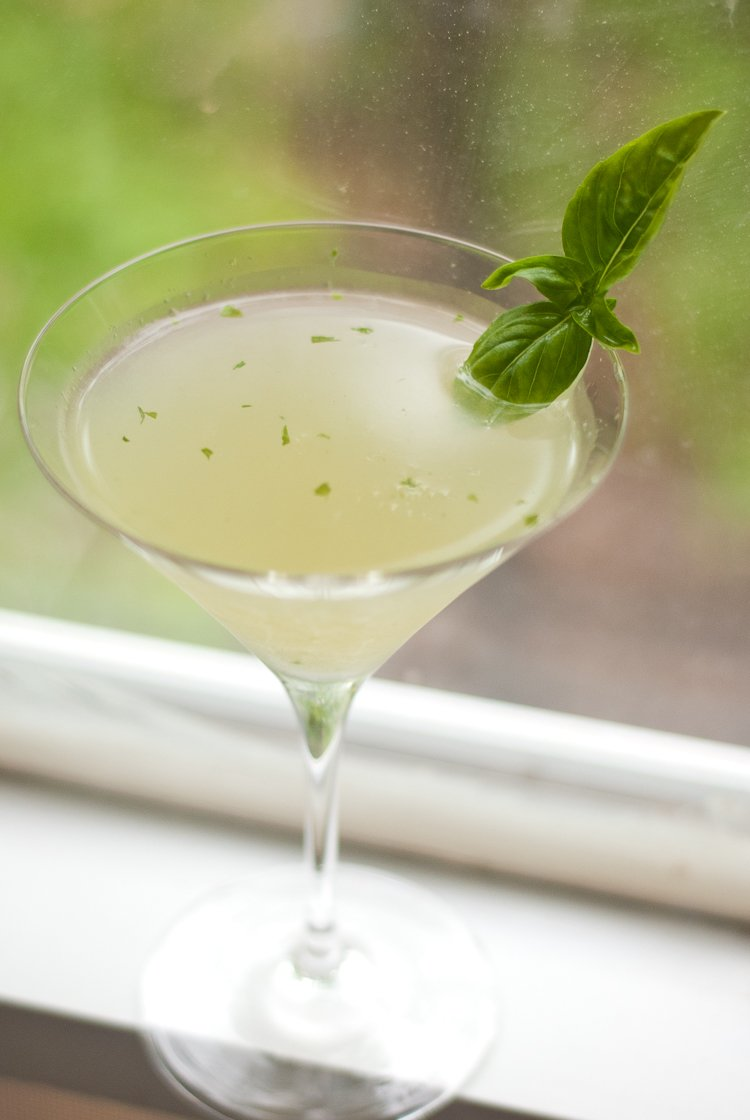 Basil Gimlet - Cookie and Kate