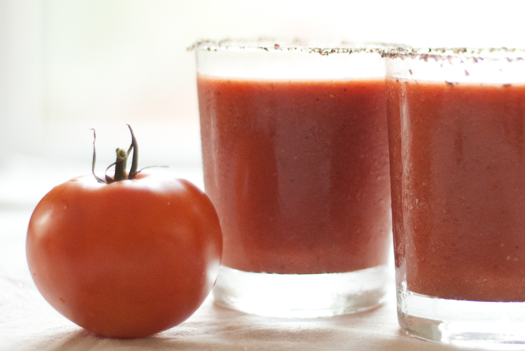 Bloody Mary congelada