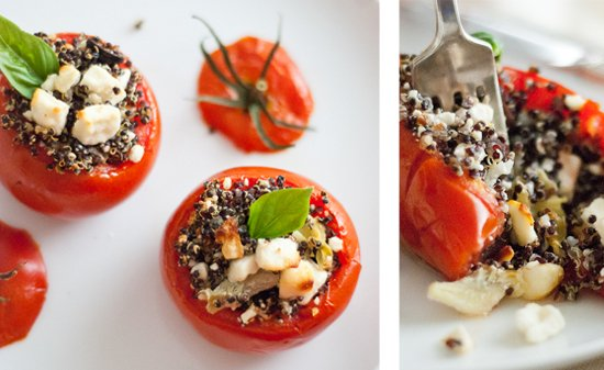 healthy stuffed tomatoes recipe