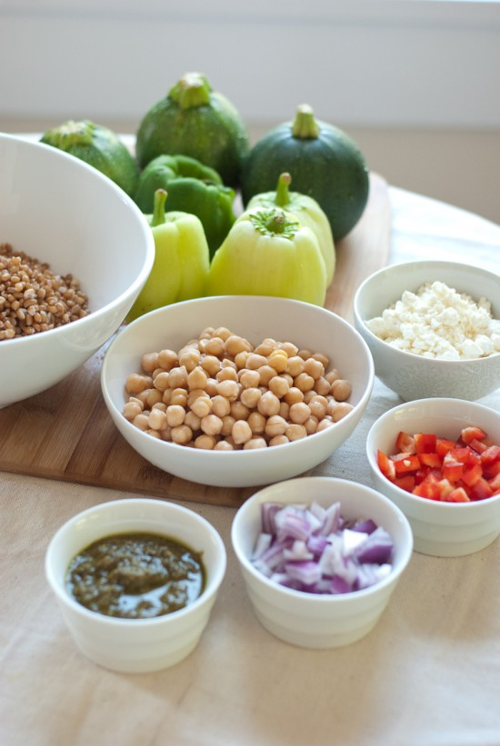 stuffed vegetable ingredients