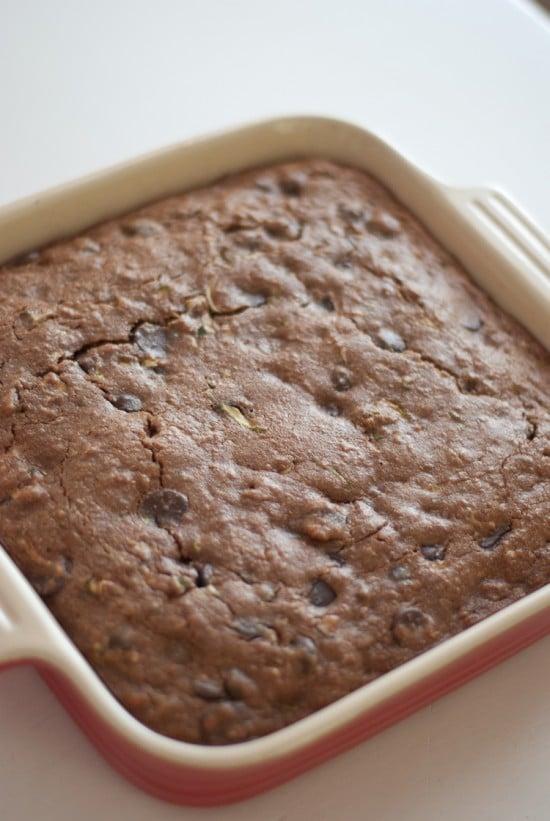 healthy zucchini brownies recipe