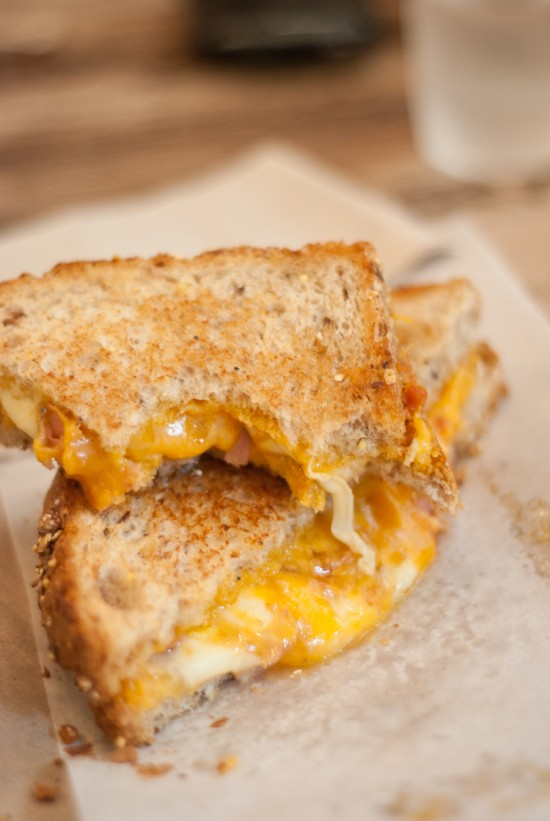 Grilled cheese sandwich at Grahamwich in Chicago