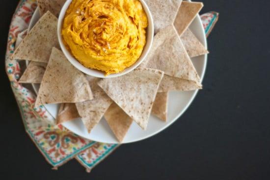 cayenne sweet potato hummus