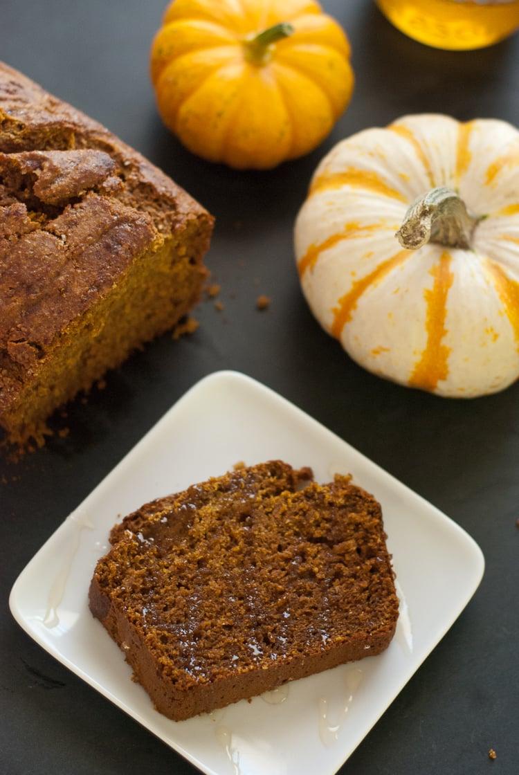 One bowl, honey-sweetened, whole wheat pumpkin bread recipe ...