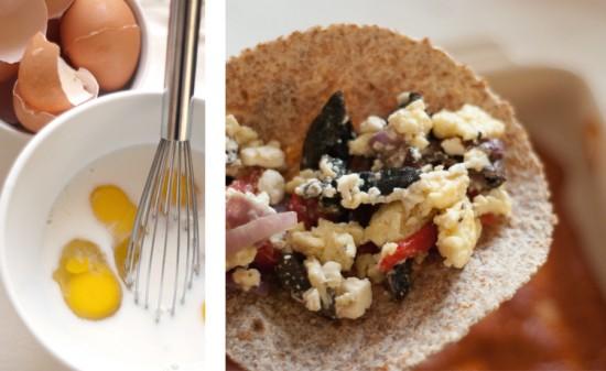 how to make egg enchiladas