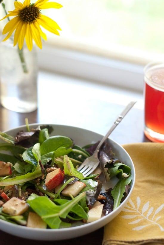 gala apple and gorgonzola cheese salad recipe