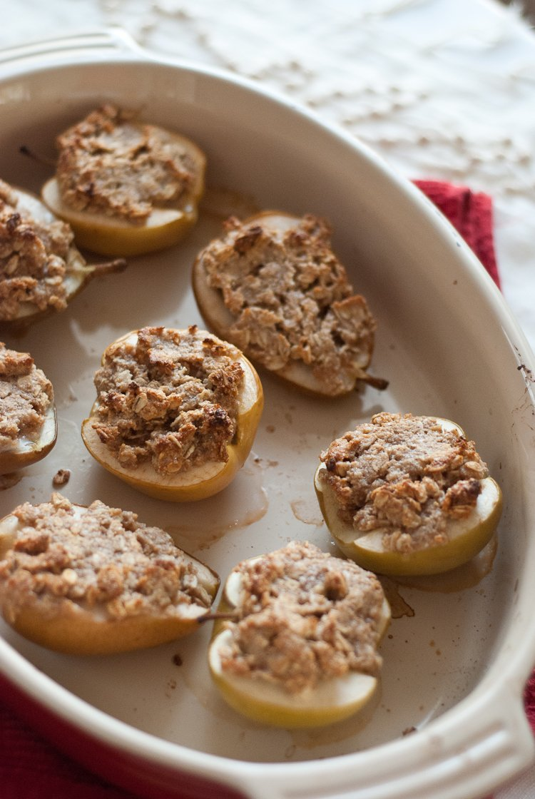 Individual Pear And Apple Crisps Cookie And Kate