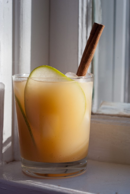 pear and reposado tequila cocktail for fall