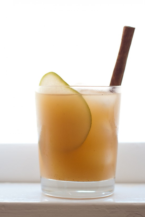 pear and reposado tequila cocktail