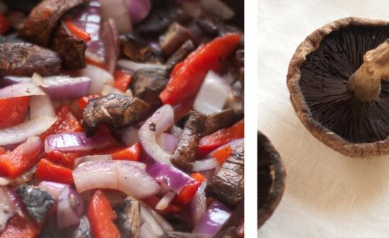 sauteed portobellos with onions