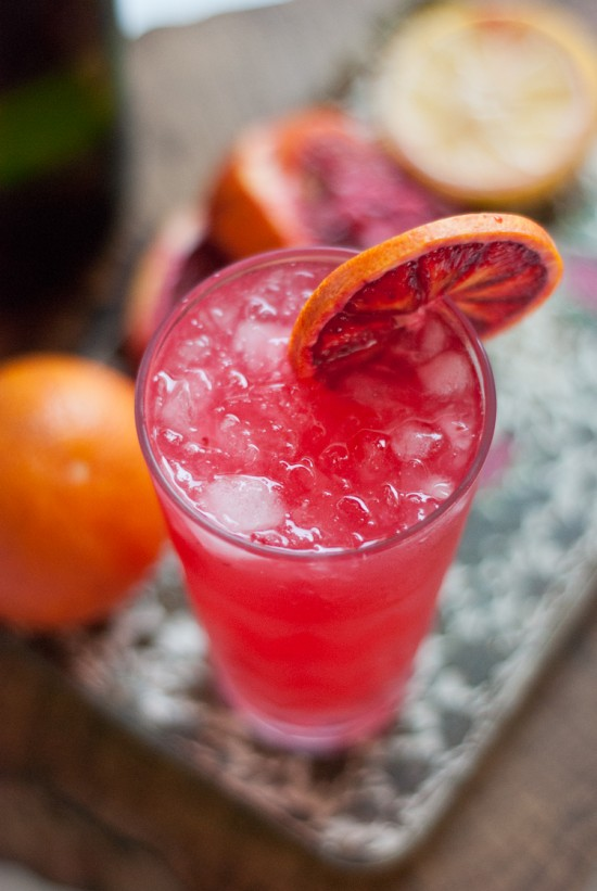 Blood Orange French 75