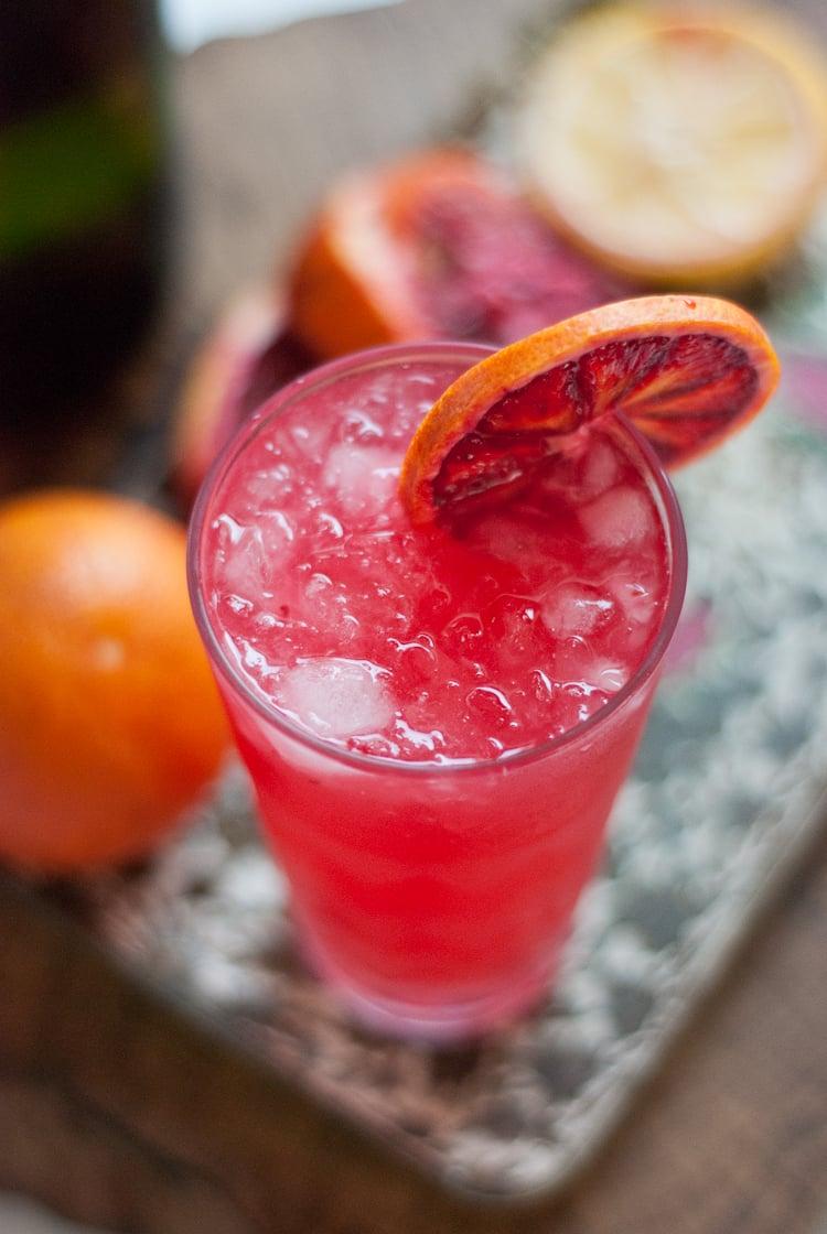 Blood Orange French 75 | Bloody Orange | Pinterest