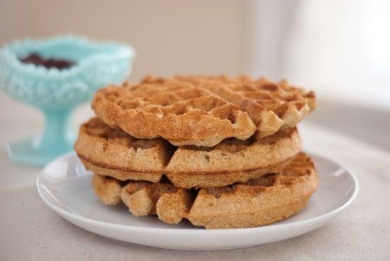 whole wheat coconut waffles recipe